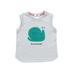 달팽이 민소매 티셔츠