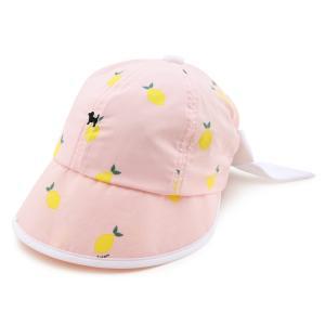 레몬 와이드챙 모자
