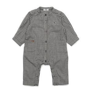 모노체크셔츠우주복