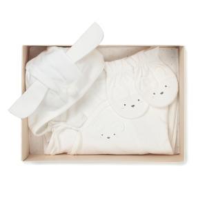 IV)오가닉배내우주복+손싸개 SET