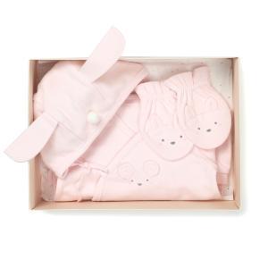 PH)오가닉배내우주복+손싸개 SET