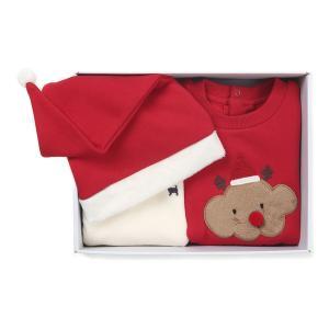 RD)크리스마스 바디수트&티셔츠SET