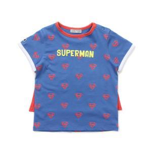 슈퍼맨 망토 반팔티셔츠