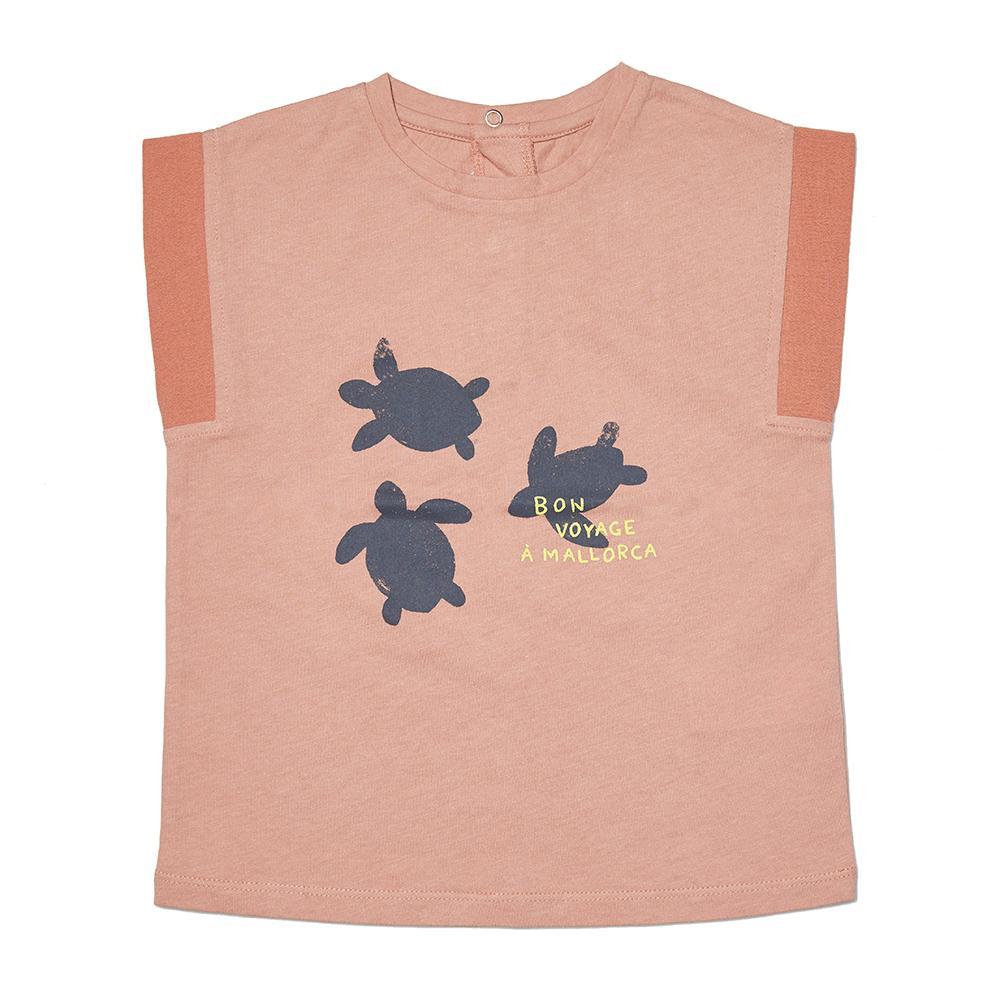 거북이포인트티셔츠