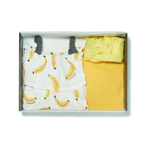 YE)바나나민소매상하복+헤어밴드SET